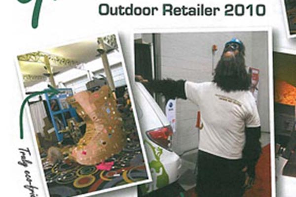 Rocketship in March Issue of Outdoor Magazine
