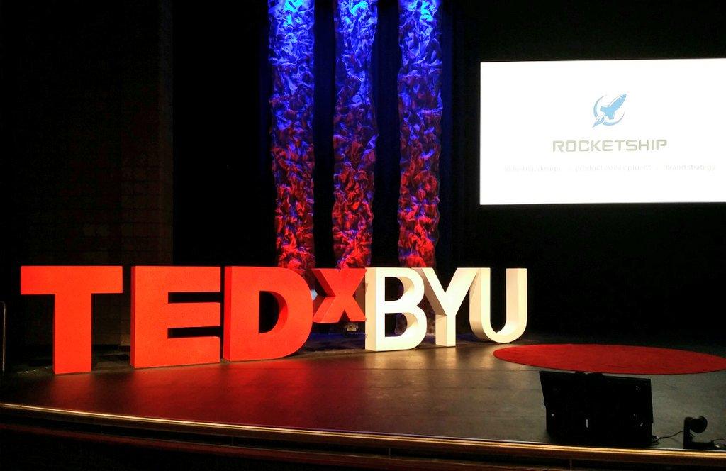 Proud Sponser of TEDx BYU